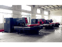 Used CNC punching machine, bending machine, shearing machine